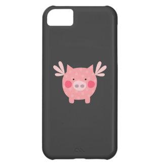 ブタの例 iPhone5Cケース