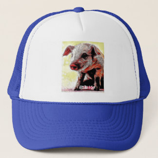 ブタの帽子* 1人の人による芸術 キャップ
