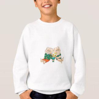 ブタの楽園 スウェットシャツ