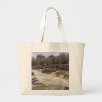 ブタの背部滝、オタワ、 ラージトートバッグ