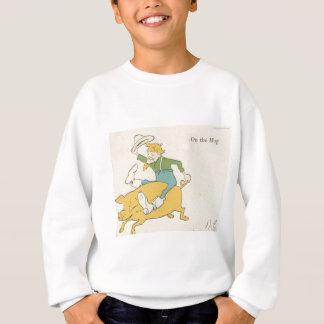 ブタの農家 スウェットシャツ
