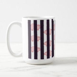 ブタの阻止-マグ コーヒーマグカップ