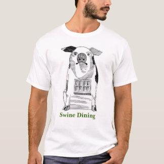 ブタの食事 Tシャツ