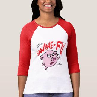 ブタのFuのユーモア Tシャツ