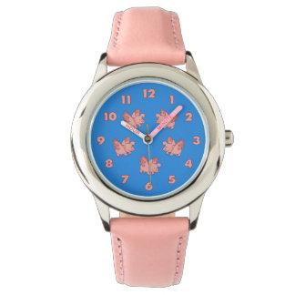 ブタはカスタムな腕時計を飛ばします 腕時計