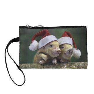 ブタサンタクロース-クリスマスのブタ- 3匹のブタ コインパース
