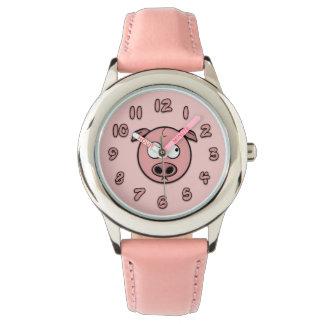 ブタ 腕時計