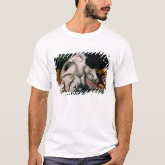 ブタ、c.1912 (キャンバスの油) tシャツ