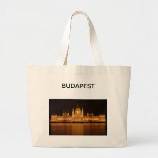 ブダペストのすばらしい議会 ラージトートバッグ