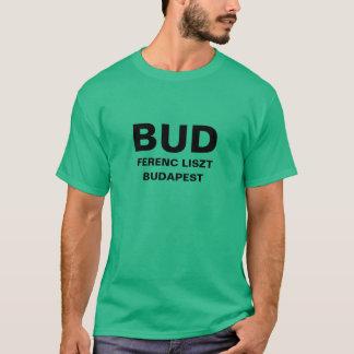 ブダペストの国際空港のワイシャツ Tシャツ