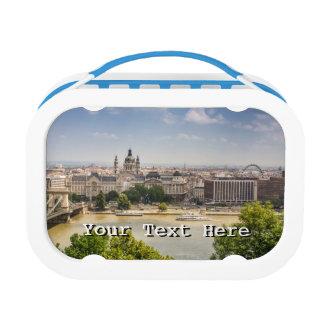 ブダペストの夏の都市景観、ハンガリー旅行写真 ランチボックス