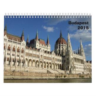 ブダペストの建築- 2015年 カレンダー