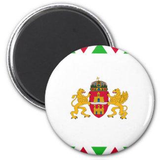 ブダペストの旗 マグネット