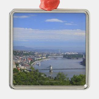 ブダペストの都市景観 メタルオーナメント