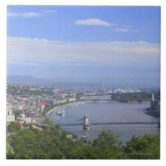 ブダペストの都市景観 正方形タイル大