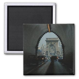 ブダペストの鎖式吊り橋 マグネット