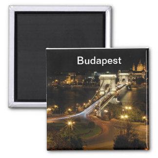 ブダペストのnightscape マグネット