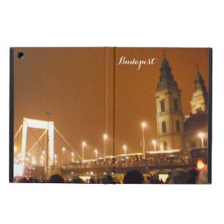 ブダペストエリザベス橋写真のプリントのiPadの空気 iPad Airケース