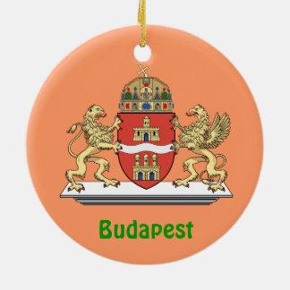 ブダペストハンガリーのクリスマスのオーナメント セラミックオーナメント