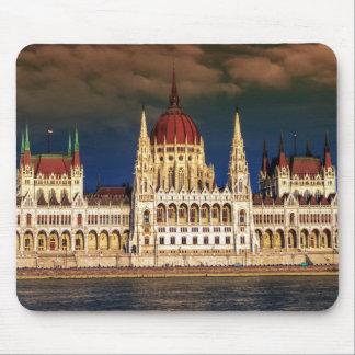 ブダペスト、ハンガリーのハンガリーの議会の建物 マウスパッド