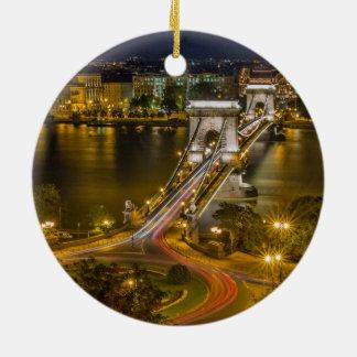 ブダペスト、ハンガリー セラミックオーナメント