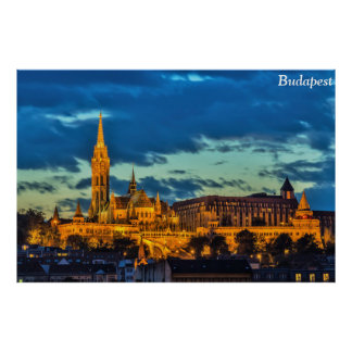 ブダペスト、ハンガリー ポスター