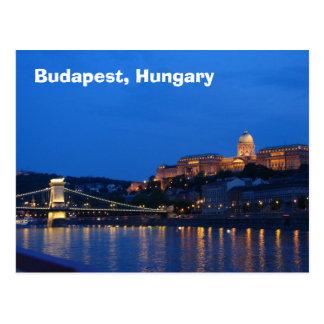 ブダペスト、ハンガリー ポストカード