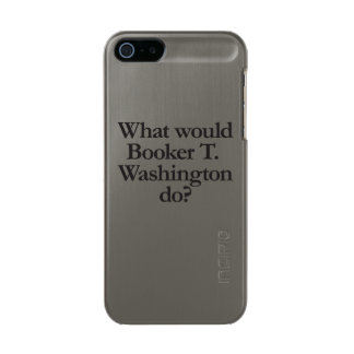 ブッカーtワシントン州する何が メタリックiPhone SE/5/5sケース
