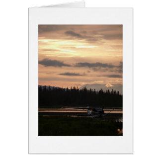 ブッシュの平らな日の出カード カード