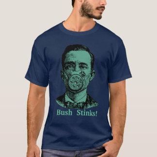 ブッシュの悪臭! Tシャツ