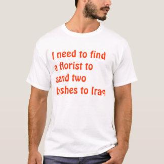 ブッシュの最低 Tシャツ
