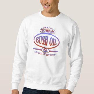 ブッシュの油 スウェットシャツ