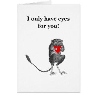 ブッシュベビーの挨拶状 カード