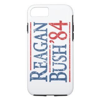 ブッシュレトロのレーガン84の選挙 iPhone 8/7ケース