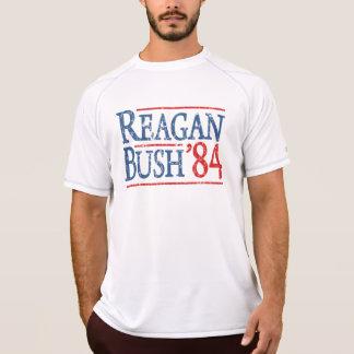 ブッシュレトロのレーガン84の選挙 Tシャツ