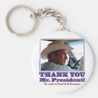 ブッシュ感謝していアメリカ キーホルダー