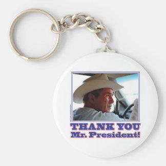 ブッシュ感謝してい キーホルダー