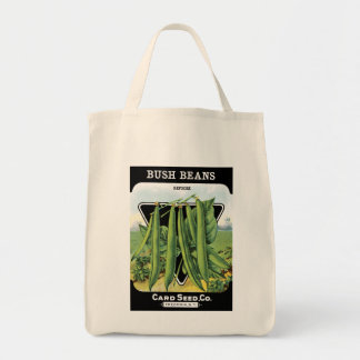 ブッシュ豆は種Co.の包みのヴィンテージFredoniaを梳きます トートバッグ