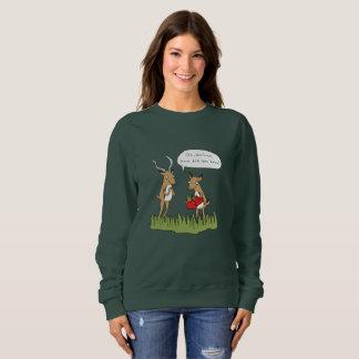 ブッシュ|のおもしろいなサファリのジャンパーのクリスマス スウェットシャツ