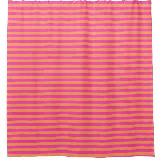 ブティックのストライプのピンク-浴室のシャワー・カーテン シャワーカーテン
