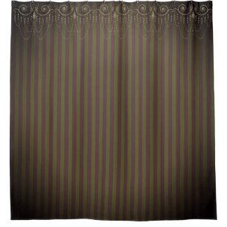 ブティックは縞で飾りましたり/シャンデリア- シャワーカーテン