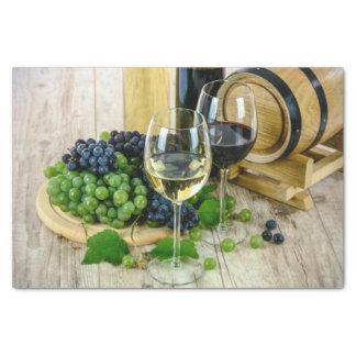 ブドウおよびワインのティッシュペーパー 薄葉紙