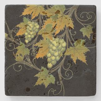 ブドウつる植物の石のコースター ストーンコースター