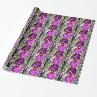 ブドウのアイリスギフト用包装紙 ラッピングペーパー