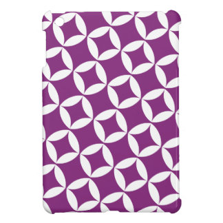 ブドウのレトロの星の原子モダンなパターン iPad MINIケース