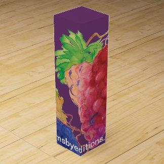 ブドウのワイン用化粧箱 ワインギフトボックス