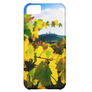 ブドウの葉および空 iPhone5Cケース