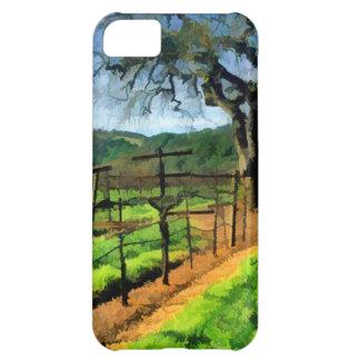 ブドウ園の春 iPhone5Cケース