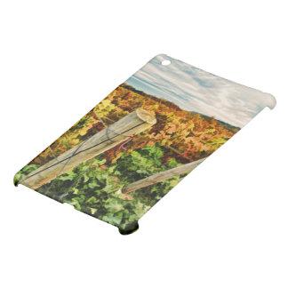ブドウ園の空の秋 iPad MINIケース