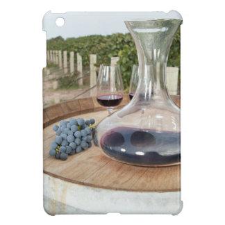 ブドウ園の赤ワイン iPad MINIケース